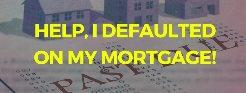 Help, I Defaulted On My Mortgage in Memphis!
