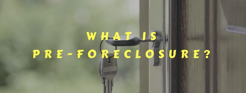 What is a Pre-Foreclosure in Memphis?